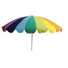 Ομπρέλα Θαλάσσης TΝΤ Πολύχρωμη Αλουμινίου 220εκ OEM 03.ULA-13117