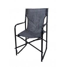 Καρέκλα Σκηνοθέτη Μεταλλική Με Μαύρο Σκελετό Και Μαύρο Mix Πανί CH-5050BL-BBL 53x52x92υψ