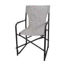 Καρέκλα Σκηνοθέτη Μεταλλική Με Καφέ Σκελετό Και Μπεζ Mix Πανί CH-5050BR-BEZ 53x52x92υψ