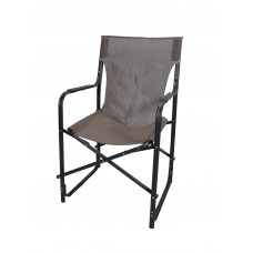 Καρέκλα Σκηνοθέτη Μεταλλική Με Καφέ Σκελετό Και Καφέ Πανί CH-5050BR-KAFE 53x52x92υψ