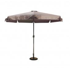 Ομπρέλα Κήπου 3m - Γκρι Πανί 03.ULA-GU300-GR