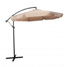 Ομπρέλα Κήπου Κρεμαστή 3m Άμμου Πανί 03.ULA-BA300-SA