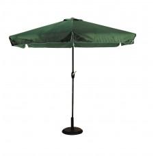 Ομπρέλα Κήπου Τετράγωνη 3x3 Σκούρο Πράσινο Πανί 03.ULA-GU3X3-DG