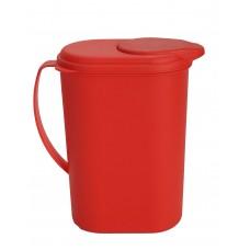 Παγουρι Κανάτα Πλαστική Ματ OEM 0010 20x10x23υψ - Κόκκινη
