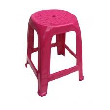 Πλαστικό Σκαμπώ Δεμένο OEM 0240 37x37x47ύψος - Ροζ