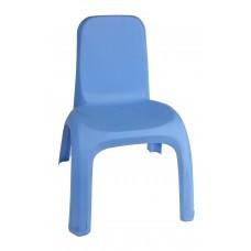 Πλαστικό Καρεκλάκι Παιδικό Ματ OEM 0188 43x 37xΥ52,5εκ - Μπλε