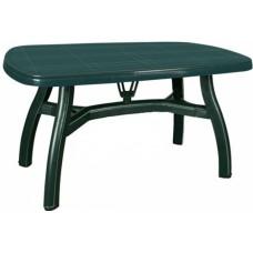 Πλαστικό Τραπέζι Βασιλιάς OEM  0124 80x125xY72εκ - Πράσινο