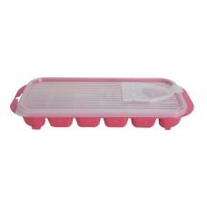 Παγοθηκη Με Καπακι Πλαστική OEM 0297 25x11x3,5υψ - Φούξια