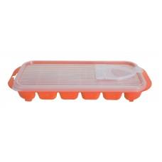 Παγοθηκη Με Καπακι Πλαστική OEM 0297 25x11x3,5υψ - Πορτοκαλί