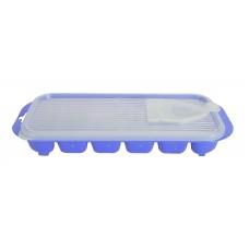 Παγοθηκη Με Καπακι Πλαστική OEM 0297 25x11x3,5υψ - Μωβ