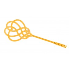 Τιναxτηρι Για Χαλιά Πλαστικό OEM 0061 63x23x1,5εκ - Κίτρινο