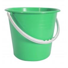 Κουβαδάκι Πλαστικό Με Χερούλι Στρογγυλο Ε 24x24x20υψ OEM 0095 - Λαχανί