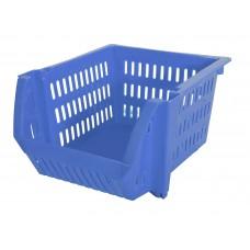 Καλαθι Τακτοποιησης Στοιβαζόμενο Μονο OEM 0218 22x23,5x13υψ - Μπλε