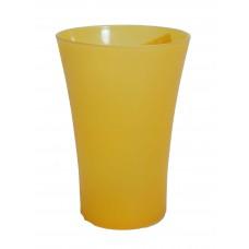 Ποτηρι Χυμου Πλαστικό OEM Α929 8x8x11,5υψ - Κίτρινο