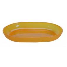 Πιατελα Ραβιερα Πλαστική Α325 22x14x3υψ OEM Α325 - Κίτρινη