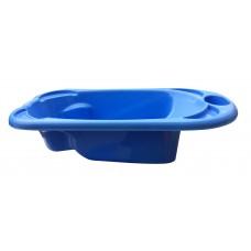 Μπανακι Παιδικο Πλαστικό 90x48x20υψ OEM 0111 - Μπλε