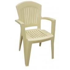 Πλαστική Καρέκλα ΑΘΗΝΑ Μπεζ 90x59x51 - 48x46 Κάθισμα OEM 0138