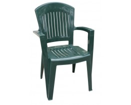 Πλαστική Καρέκλα ΑΘΗΝΑ Πράσινη 90x59x51 - 48x46 Κάθισμα OEM 0138