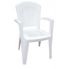 Πλαστική Καρέκλα ΑΘΗΝΑ Άσπρη 90x59x51 - 48x46 Κάθισμα OEM 0138