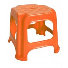 Σκαμπω Μινι Πλαστικό Παιδικό 20x20x22υψ OEM 0230 - Πορτοκαλί