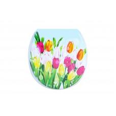 Καπάκι Τουαλέτας Μαλακό Λουλούδια Ry-3000 OEM - D93018