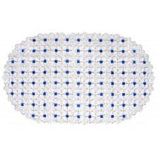 Πατάκι Μπανιέρας Αντιολισθητικό Οβάλ Blue ART.SF2135