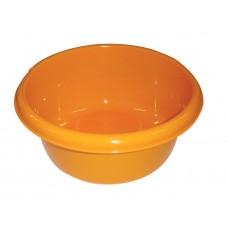 Λεκανη Στρογγυλη Φ24 3lt OEM Νο 2070 24x24x10,5υψ - Πορτοκαλί