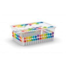 Κουτι Αποθηκευσης KIS Με Καπακι 8408 ARTY 37x26x14υψ