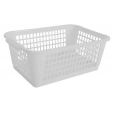 Καλαθι Κουζινας Μικρο Πλαστικό 471 OEM 1747101 19,5x29x10,5υψ - Λευκο