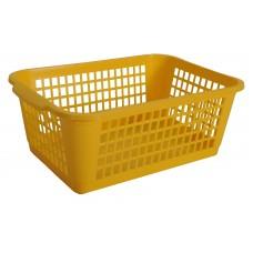 Καλαθι Κουζινας Μεγαλο Πλαστικό 470 OEM 1747002 26x37x14υψ - Κιτρινο