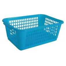 Καλαθι Κουζινας Μεγαλο Πλαστικό 470 OEM 1747003 26x37x14υψ - Μπλε