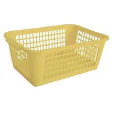 Καλαθι Κουζινας Μικρο Πλαστικό 471 OEM 1747102 19,5x29x10,5υψ -Κιτρινο
