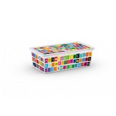 Κουτι Αποθηκευσης Με Καπακι KIS 8407 ABC 33,5x19x12υψ