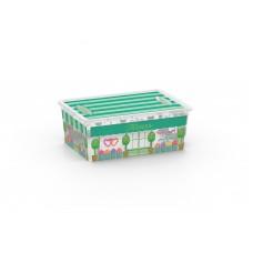 Κουτι Αποθηκευσης KIS Με Καπακι Νο 8408 Bou3 S OEM 1660809 37x26x14υψ