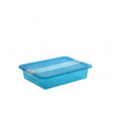Κουτί Αποθήκευσης Keeeper Cornelia Μπλε 7lt Με Καπάκι 39,5 x 29,5 x 9,5υψ 2504102