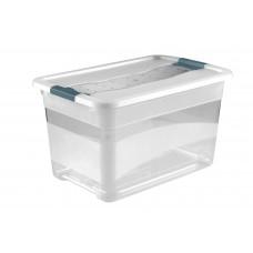 Κουτί Αποθήκευσης Keeeper Cornelia Διάφανο 52lt Με Καπάκι 59,5 x 39,5 x 34υψ 2504600