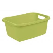 Λεκάνη Απλύτων - Πλυμμενων Keeeper Aenna Fern Green 32lt 55x40x23υψ No 10785