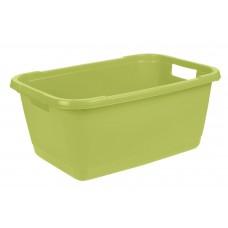 Λεκάνη Απλύτων - Πλυμμενων Keeeper Aenna Fern Green 52lt 65x44x28υψ No 10786