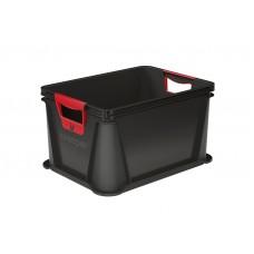 Κουτί Αποθήκευσης Keeeper Luis Γραφίτης 20lt 39x29x22υψ Νο 10066
