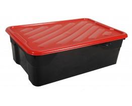 Πλαστικό Κουτί Αποθήκευσης Ρηχό 43lt OEM Α00416