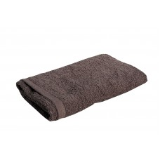 Πετσέτα Χεριών 100% Βαμβάκι 400gr Μονόxρωμη 30x45εκ OEM 002.320 - Καφέ Σκούρο
