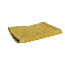 Πετσέτα Χεριών 100% Βαμβάκι 400gr Μονόxρωμη 30x45εκ OEM 002.320 - Μουσταρδί