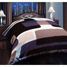 Κουβέρτα Βελουτέ Εμπριμέ Διπλή MINK 001.013 200x240εκ Sap-1