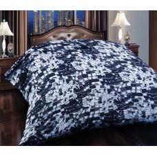 Κουβέρτα Βελουτέ Εμπριμέ Διπλή MINK 001.013 200x240εκ Sap-4