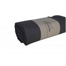 Κουβερτα Πικε Μονή 170x250εκ Μονοxρωμη Υποαλλεργική OEM 001.085 - Γκρι Σκούρο