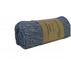 Ριxταρι Πολυθρόνας Βαμβακερό Υποαλλεργικό 170x170 Melange OEM 009.011 - Μπλε Σκουρο