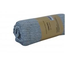 Ριxταρι Πολυθρόνας Βαμβακερό Υποαλλεργικό 170x170 Melange OEM 009.011 - Γκρι Μπλε