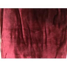 Κουβέρτα Βελουτέ Μονόχρωμη Μπορντώ Υπέρδιπλη MINK DELUXE 001.069 220x240εκ