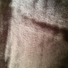 Κουβέρτα Βελουτέ Μονόχρωμη Καφέ Σκούρο Υπέρδιπλη MINK DELUXE 001.069 220x240εκ