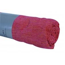 Ριχτάρι Σενίλ Πολυθρόνας Χειμερινό 009.035 Φούξια Με Πορτοκαλί Λεπτομέρειες 170x170εκ